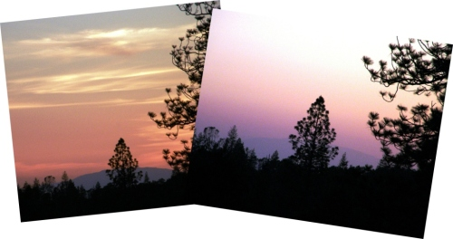 grass valley sunsets