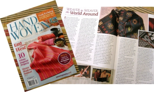 handwoven mag article