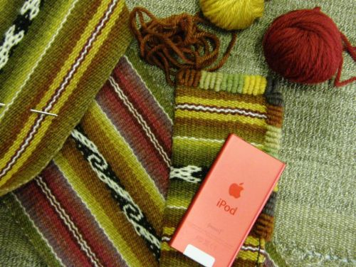 Bolivian embellishment coil stitches