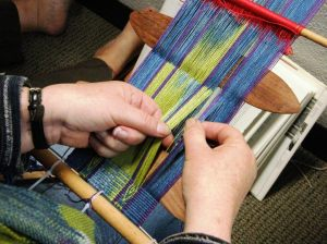 peggy's backstrap warp