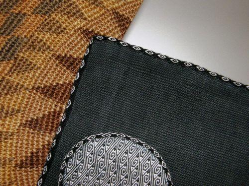 ikat circles backstrap weaving
