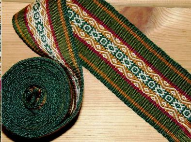 andean pebble weave strap