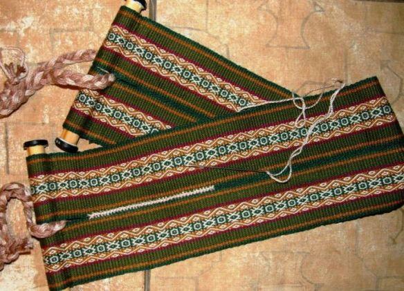 tribal cotton textile plant dyes handwoven traditional cotton runner brown soft fine cotton Traditional weaving karen tribe textile