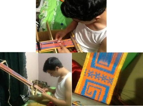 oscar backstrap weaving