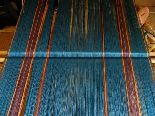 2000 ends 60/2 silk backstrap weaving