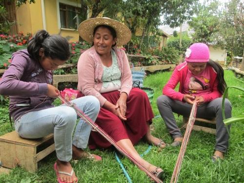 Picture courtesy of PAZA Bolivia.