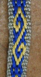 hook pattern andean pebble weave