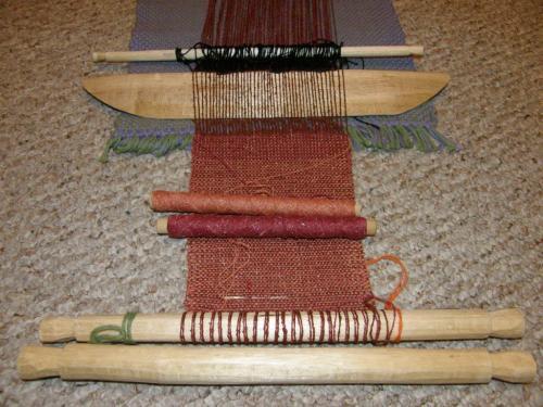 loris balanced weave piece backstrap
