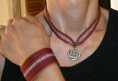 silk accessories backstrap weaving