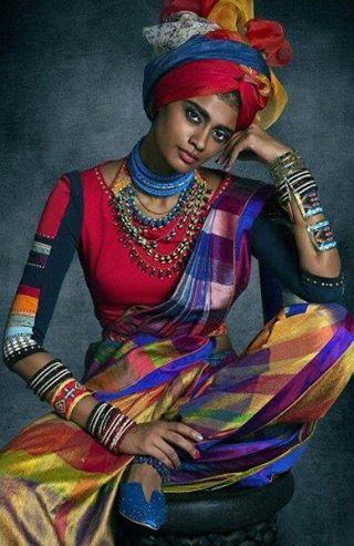 From Afrostyle magazine and designer Tarun Tahilian