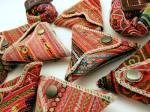 hmong triangle coin purses little mango imports