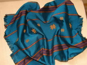 silk bandanna backstrap weaving
