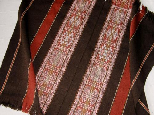 full view wool panels backstrap weaving