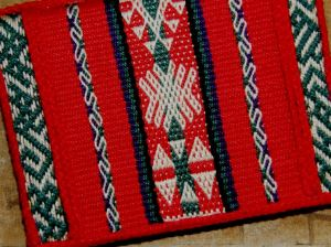 one of the first weavings
