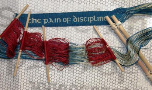 double weave warp backstrap weaving