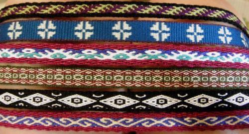 6 lanyards backstrap weaving