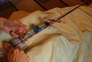 multiple heddles Andean Pebble weave