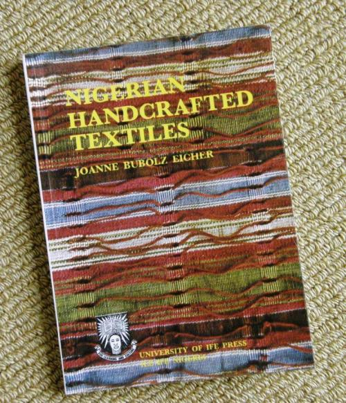 book on Nigerian textiles