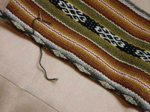 tracy nawi awapa sewn to cloth
