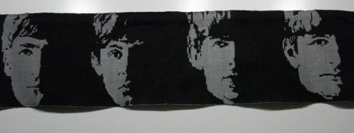 Anna Zinmeister Damask Weave The Beatles