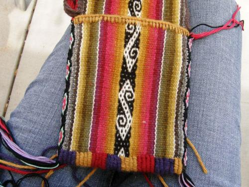 annie's pouch with tubular band