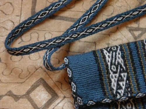nawi awapa and andean pebble weave strap