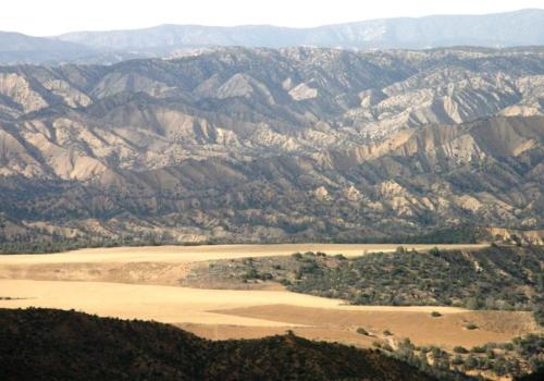 Hills in southern California.