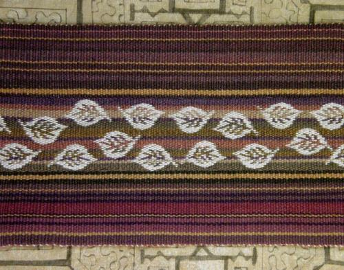 reverse of double weave
