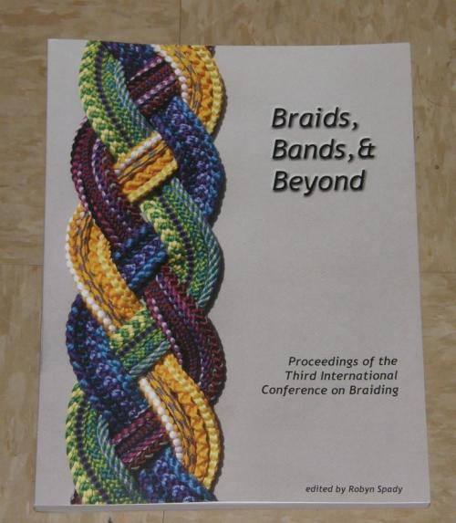 The Proceedings of BRAIDS 2016 is available through the Braid Society, Braidershand and Giovanna Imperia Designs.