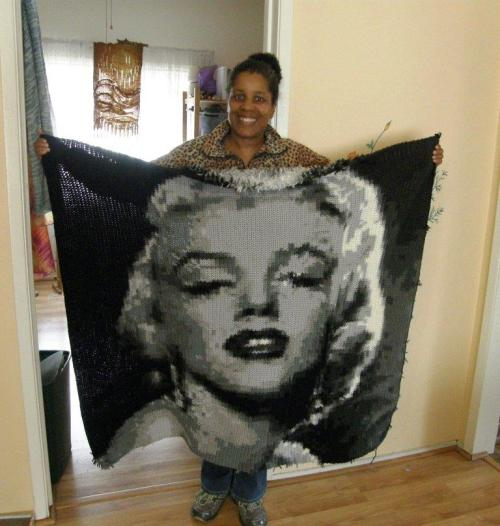 cookie's marilyn monroe crochet
