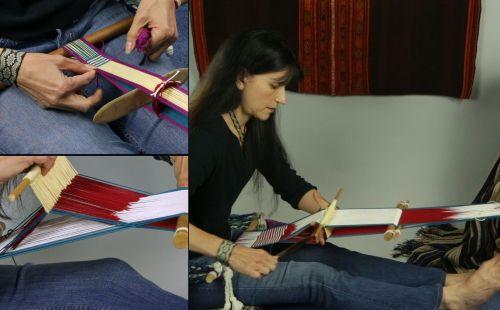 operating-a-backstrap-loom