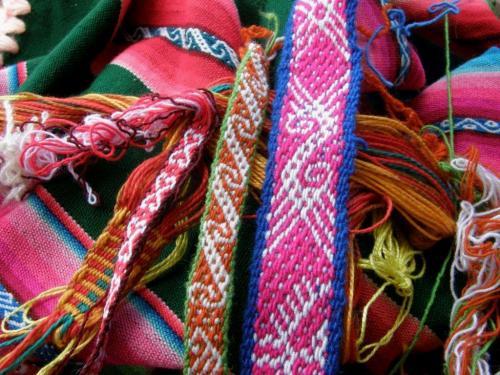 colorful woven bands