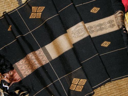 silk backstrap weaving