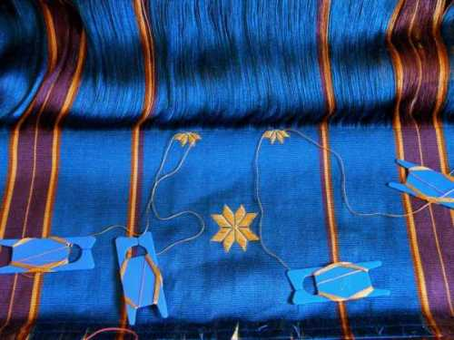 close_up_view_motifs_silk_warp