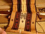 wool backstrap weaving