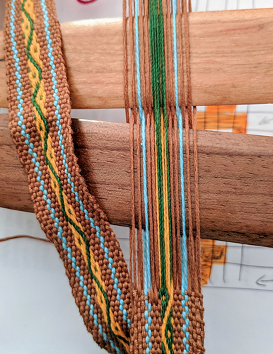 pick up inkle weaving instructions