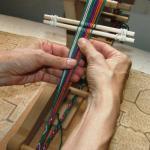 nawi awapa on the inkle loom lavernewaddington