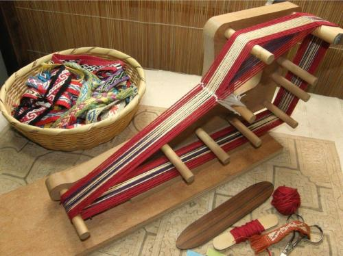Backstrap Weaving – Andean Pebble Weave on Inkle Looms – a