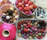 leftover silk yarn
