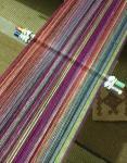 mutli color warp for ikatproject